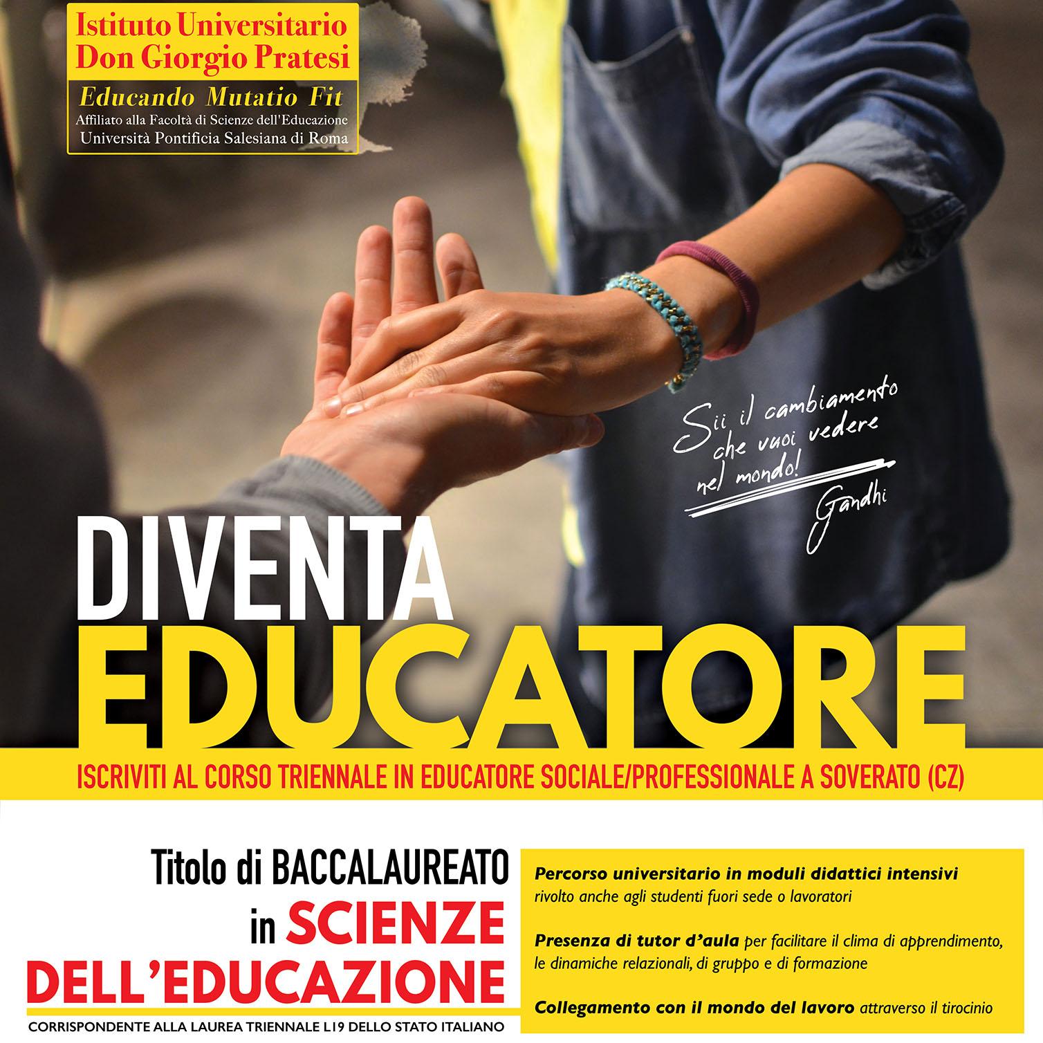 copertina diventa educatore