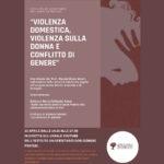 copertina seminario violenza domestica 15.04.2021